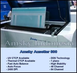 Mesin CTCP Amsky Ausetter 800