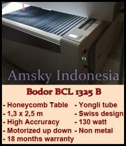 Mesin laser cutting Bodor BCL 1325 B