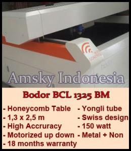 Mesin laser cutting Bodor BCL 1325 BM