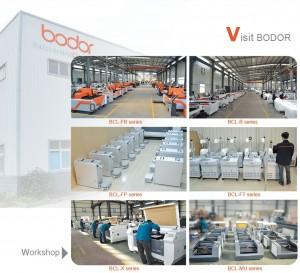 Pabrik mesin laser cutting Bodor
