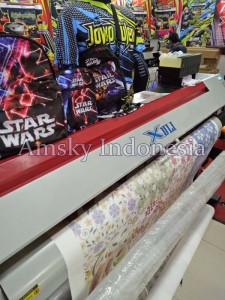 Mesin digital printing sublimasi Xuli