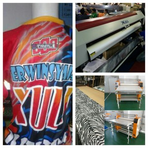 Mesin digital printing Xuli sublimasi