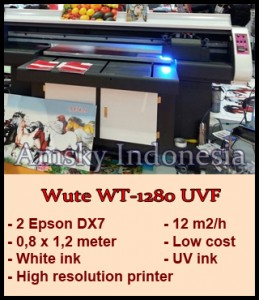 Printer flatbed Wute WT-1280 UVF