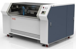 CO2 laser cutting Bodor