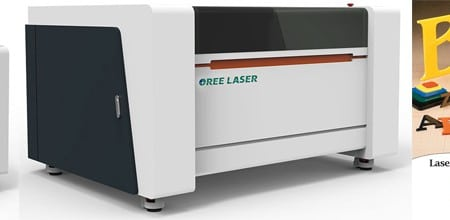 Banner mesin laser cutting Oree Laser