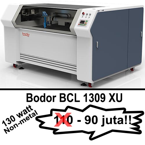 Promo merdeka mesin laser cutting Bodor