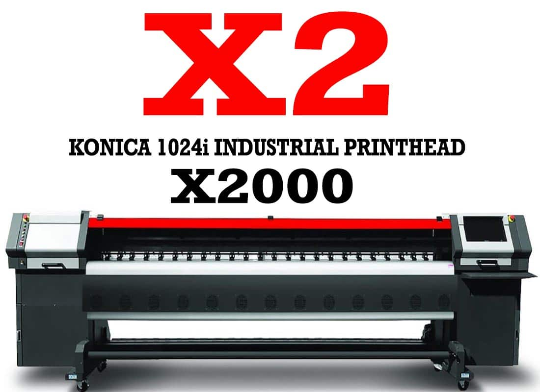 Printer Outdoor X2 Konica 1024i